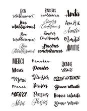 French Transparent Clear Silicone Stamp/Seal for DIY scrapbooking/photo album Decorative clear stamp sheets A815