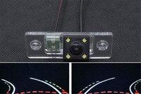 Dynamische Flugbahn Tracks CCD Reverse Parkplatz rückansicht Kamera Für VolkswagePassat Tiguan Polo Limousine Santana Golf V Skoda Fabia