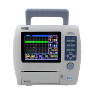 fetal maternal monitor CTG machine twins fetal heart rate monitor parameter monitor BFM 700M
