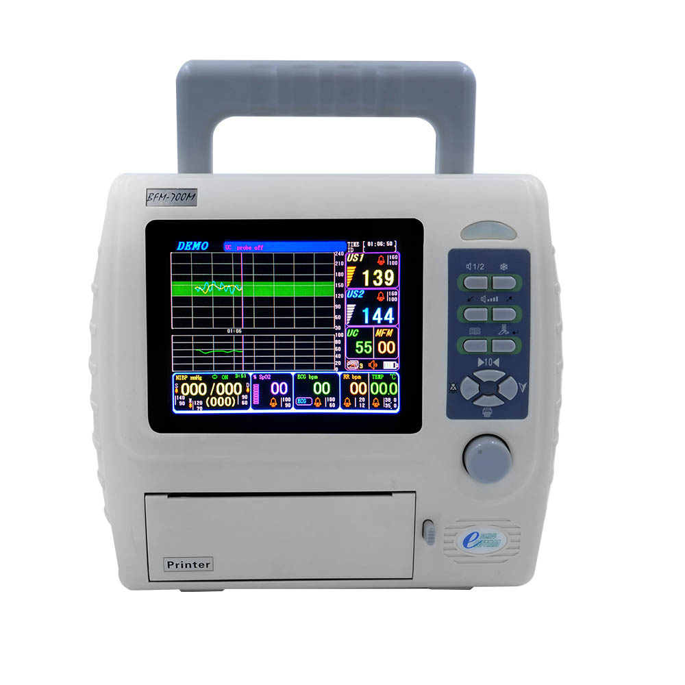 fetal maternal monitor CTG machine twins fetal heart rate monitor parameter monitor BFM-700M