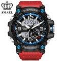 Grande Mostrador do Relógio Militar Do Exército dos homens do Esporte Relógio de Pulso Presente Relógio Digital LED Dual Time Men Watch Casual relogios masculinoWS1617