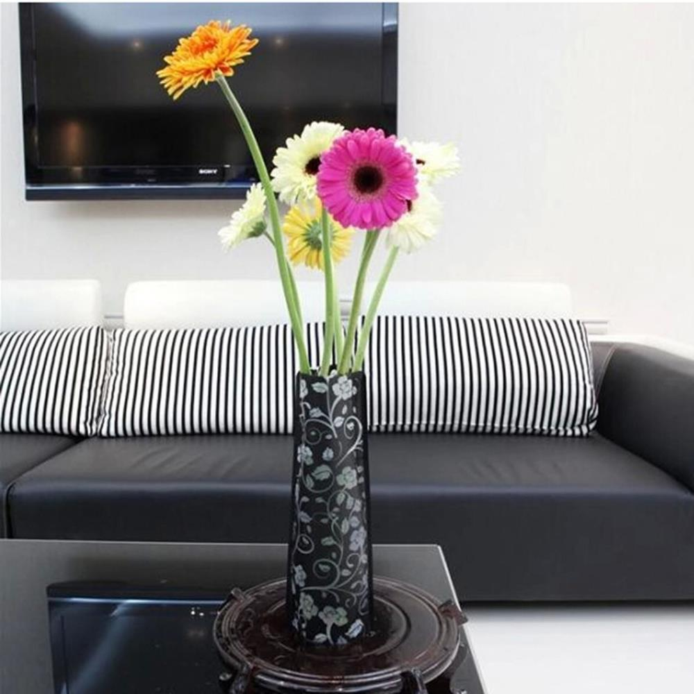 Защита окружающей среды ПВХ Пластиковая Складная ваза цветы Jardiniere|vase flower|flower holdbacksflower bra | АлиЭкспресс