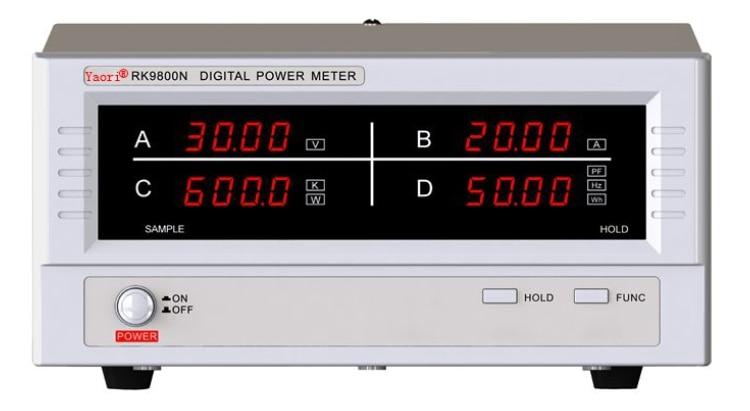 Power meter RK9901N AC/DC 5KV Withstand voltage tester Pressure Hipot tester Resistance Electronics Parameter Audio ac millivoltmeter rvt 322 measuring instrument withstand voltage tester pressure hipot tester resistance electronics parameter