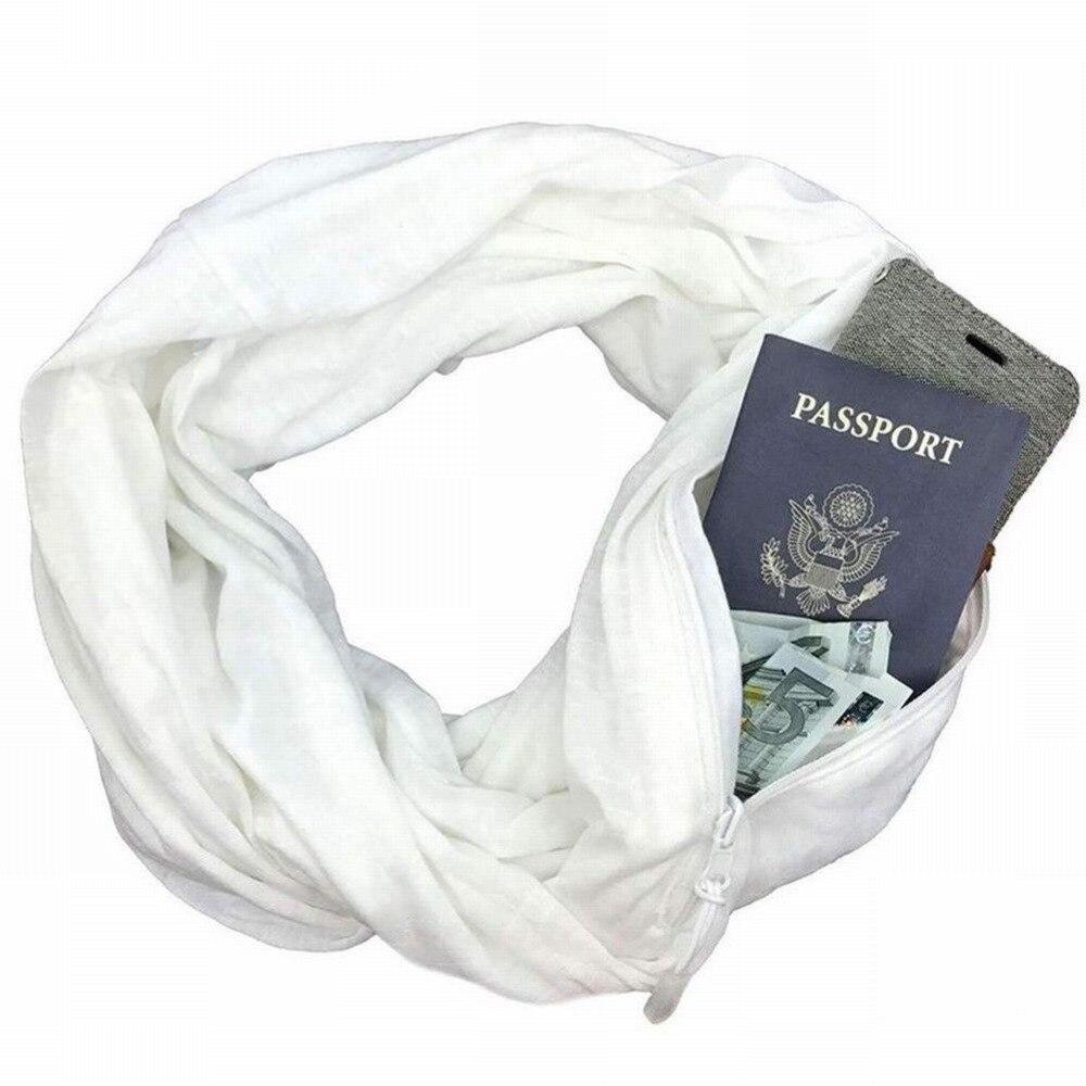 Aliexpress.com: Comprar Bufanda con bolsillo Convertible viaje ...