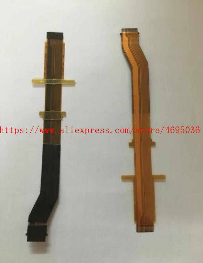 2PCS/NEW Viewfinder Eyepiece LCD Flex Cable For Sony HXR-NX3 FDR-AX1 PXW-Z100 NX3 AX1 Z100 Video Camera Repair Part