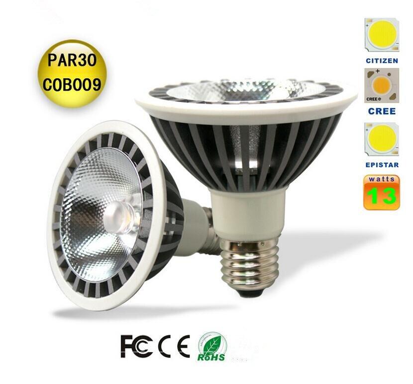 13W PAR30 CREE Chip LED Track Spot Light ,CE&RoHS,High Brightness Energy Save E27 ,warm/natural/cool white led track light 30w led spotlight gold track spot light cool white warm white