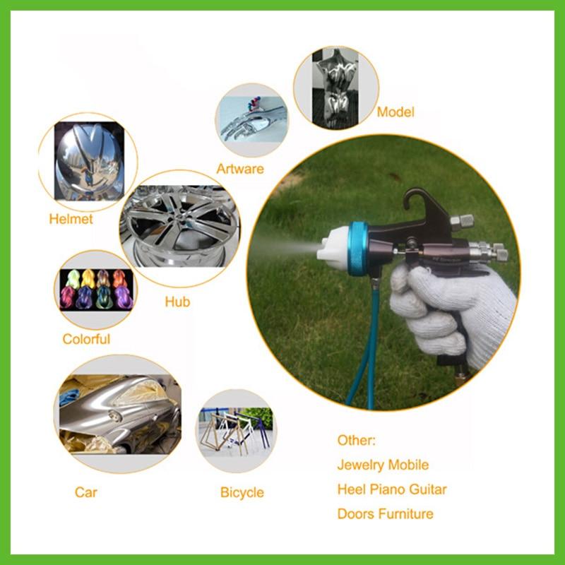 SAT1202 Paint Spray Gun Spray Gun Airbrush تفنگ فشار قوی - ابزار برقی