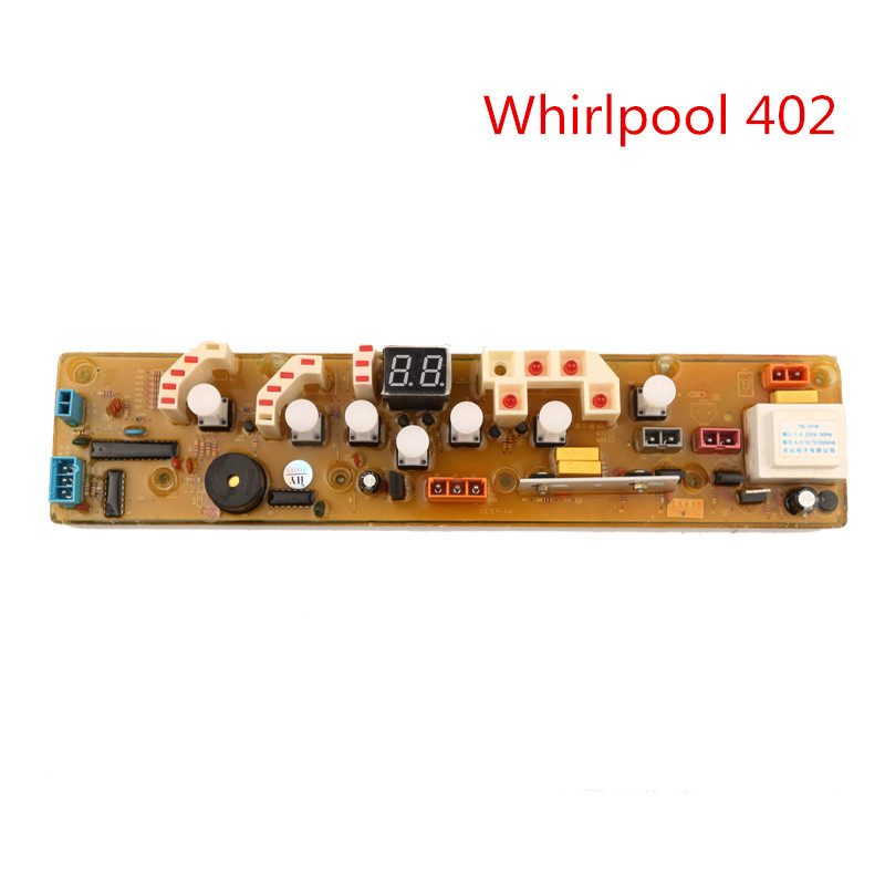 Whirlpool 402 full-automatio Washing Machine Board Original Washer Computer Board automatic washing machine tractor xpq 6c2 of tcl whirlpool lg samsung original washer drain valve motor