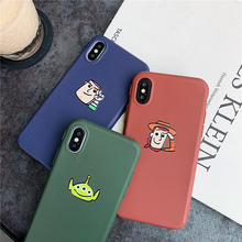 KAIEN cartoon Buzz Lightyear Woody Aline fashion soft cover for Apple M