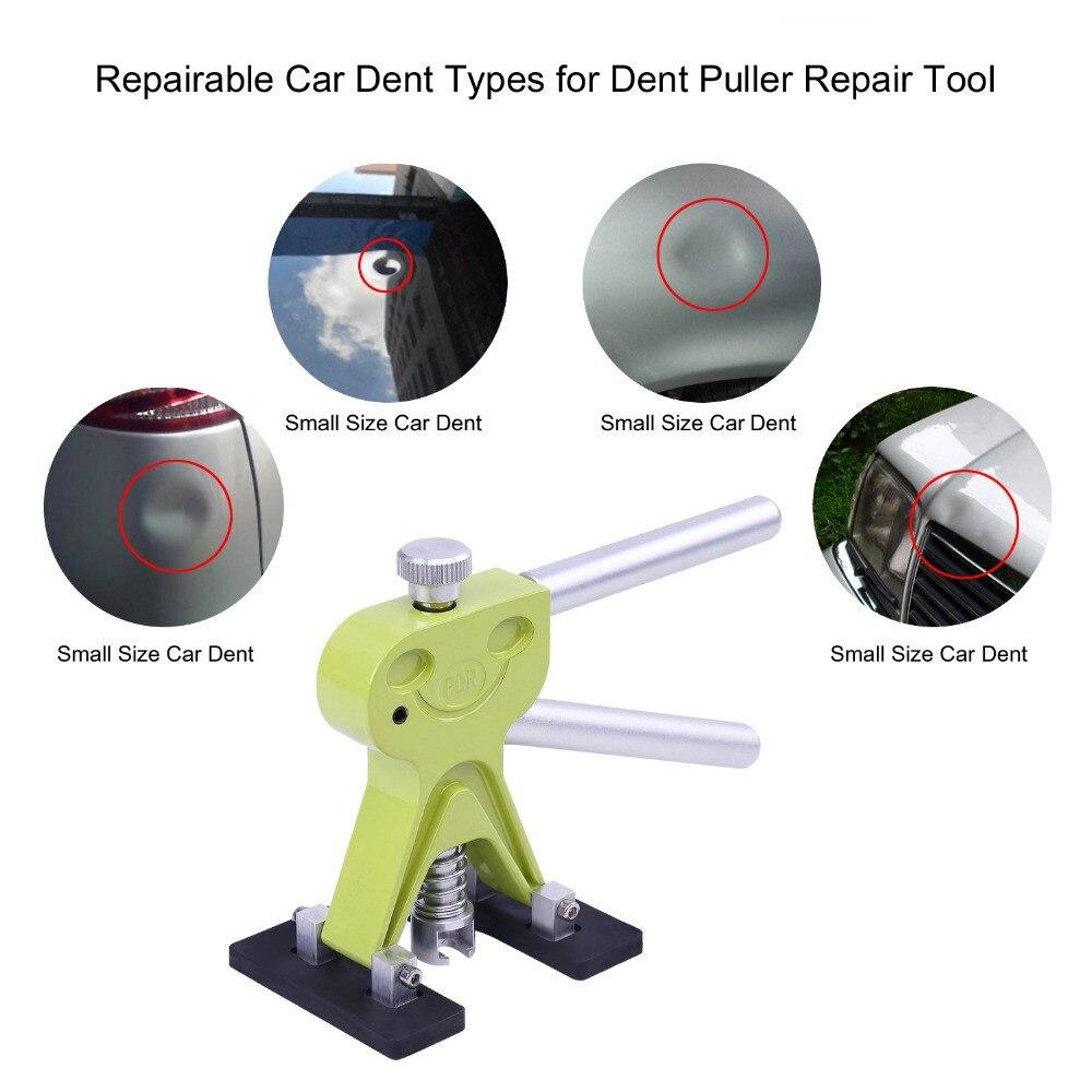 Pdr Gereedschap Haken Rvs Push Staven Uitdeuken Auto Body Dent Repair Reverse Hamer Verveloos Dent Remover Crowbar Kit - 4