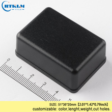 ABS plastic project case wire connectors enclosure diy speaker box small design CUSTOM LED junction 51*36*20mm 20PCS
