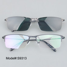 Фотография S9313 factory price  high quality half rim frames clip on sunglasses polarized sunshade UV400