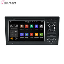 "7"" Quad Core Android 5.1.1 Car Radio For A8 1994-2003/S8 1994-2003 For Audi With GPS Stereo DVD Navi Map Audio"