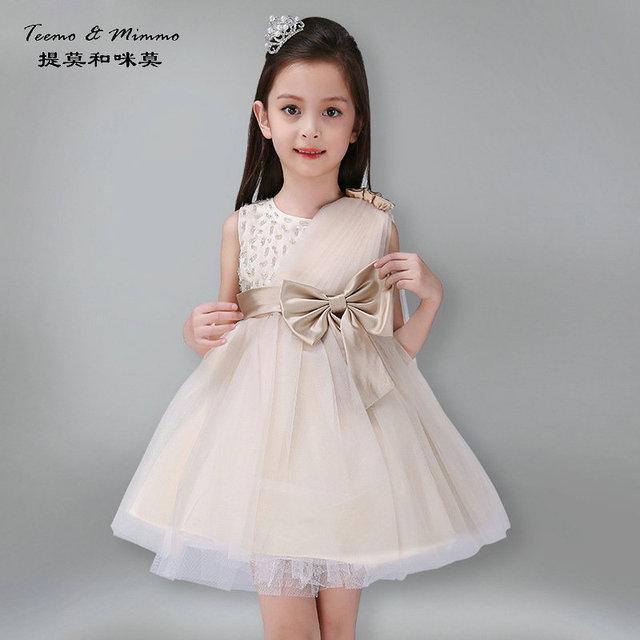 Baby Girl Princess Dress 4 18 Years Wedding Dress Fluffy Ball Gown