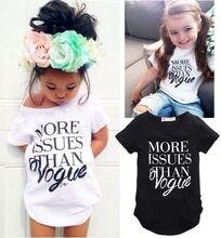 T-shirt for girls 2016 Fashion Girls