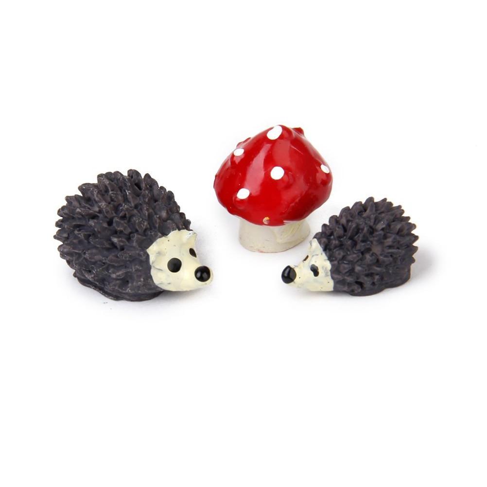 Buy Doll Furnishing Articles Resin Crafts Home Decoration: Popular Diy Hedgehog-Buy Cheap Diy Hedgehog Lots From