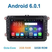 8 ядра Android 6.0.1 Автомобильный DVD для VW Passat CC Поло ГОЛЬФ 5 6 Jetta Tiguan Touran EOS Sharan T5 Gps-радио Seat Altea