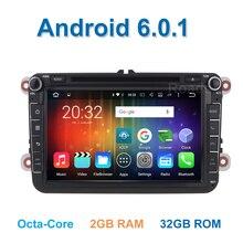 8 core Android 6.0.1 Car DVD for VW Passat CC Polo GOLF 5 6 Touran EOS T5 Sharan Jetta Tiguan GPS Radio Seat Altea