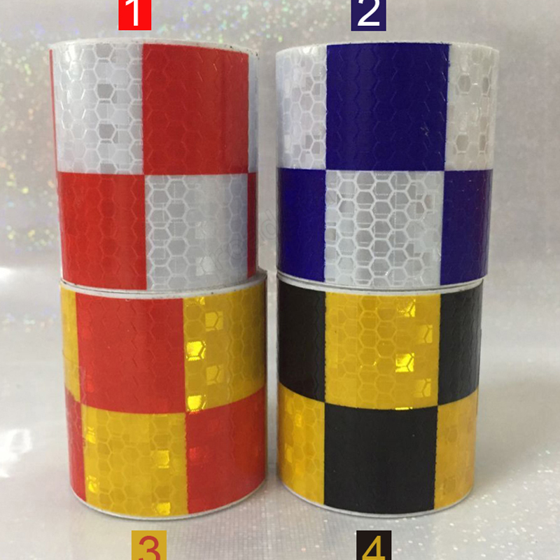 5cm X 3m Shining Reflective Warning Tape For Car