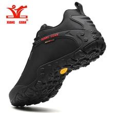 Hotsell XIANG GUAN Man Outdoor Hiking Shoes fishing Athletic Trekking Boots Women Climbing Walking Sneskers large SIZE EUR 36-48