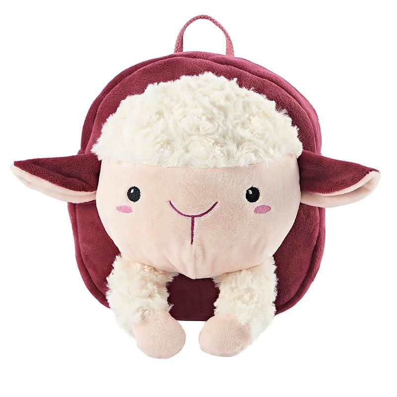 18cm*18cm*6cm Cartoon Safety Harnesses Cute Keeper Toddler Walking Animal Anti-lost Bag Adjustable Length Shoulders Backpack