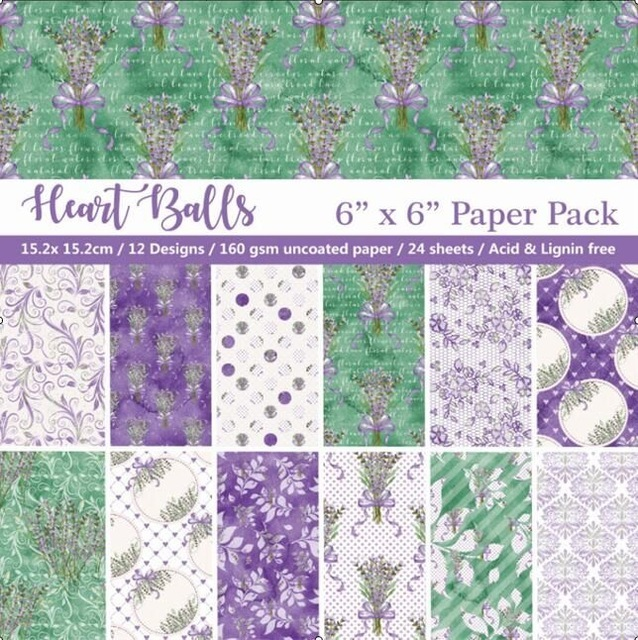 """6"""" 12 Sheets Beautiful lavender theme Scrapbook Paper Origami Paper DIY Background Card Making  Home deco arts and crafts"""