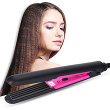 Professional Crimper Corrugation Hair Curling Iron Curler Corrugated Iron Styling Ceramic Corn Plate Curling Wand Hair Styler цена