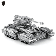 UNSC SCORPION TOY 3D Metal model assembly puzzle Chinese Fascinations Desktop decoration 1 sheet DIY Children's gift
