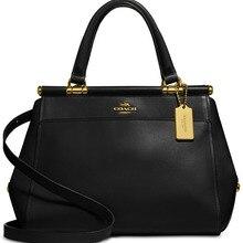 COACH Grace Bag Shoulder Handbags (Black/Gold) Luxury Handba