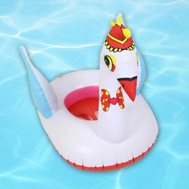 Summer Cute Animal Outdoor Inflatable Float Swimming Ring