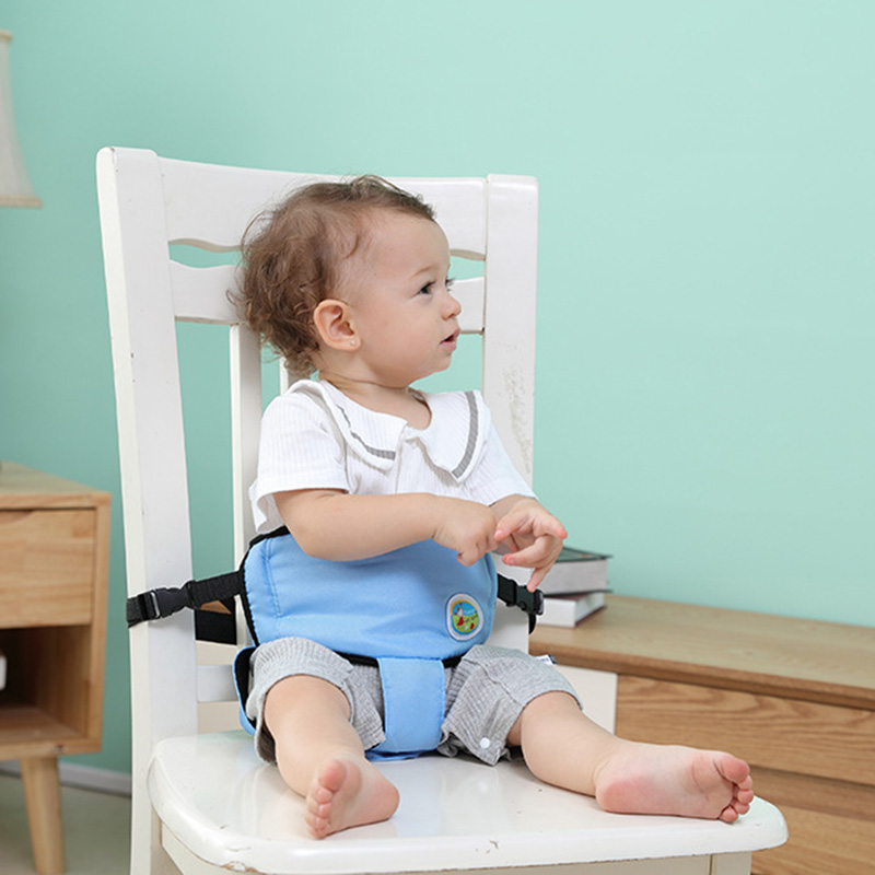Portable Baby Chair Seat Belt Dining Feeding Chair Safety Belt Children Harness Anti-falling BM88
