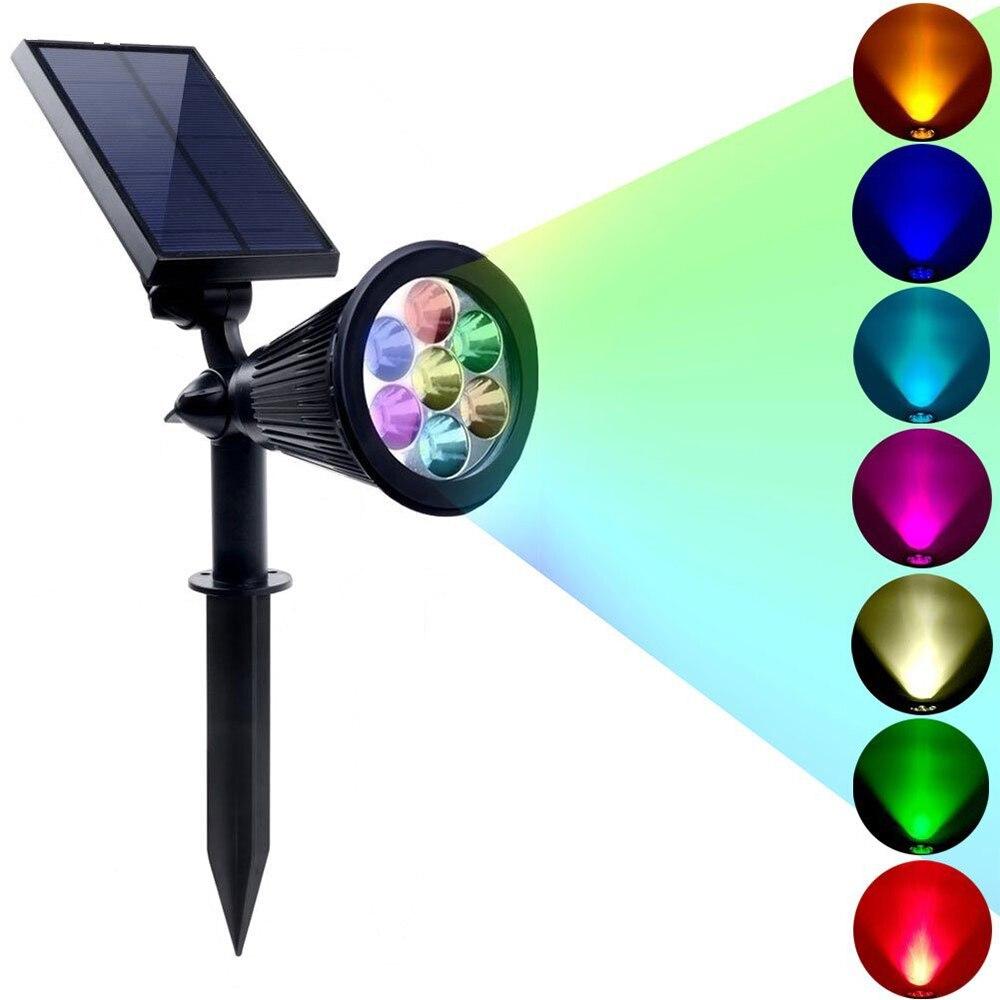 Nueva llegada Led luz solar al aire libre 4 LEDs Proyector de - Iluminación exterior - foto 3