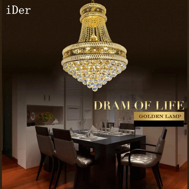 Modern Chandelier Wholesale: Iron Crystal Chandelier Modern Creative Restaurant Lights