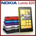 Original Nokia Lumia 820 Windows Phone 8 ROM 8 GB cámara de 8.0MP 4.3 pantalla Nokia 820 teléfono móvil envío gratuito garantía de un año