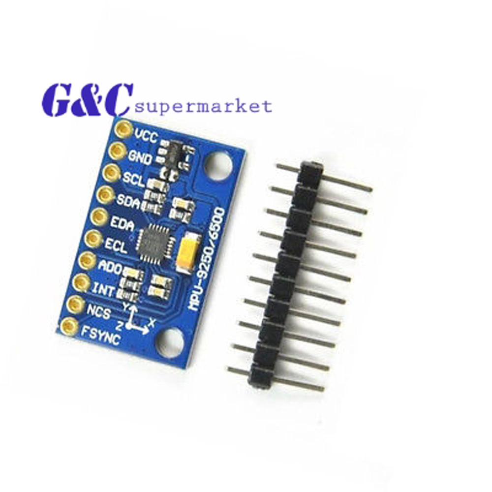 Nintegrated Circuits Spi Iic Mpu 9250 9 Axis Attitude Gyro Home Diy Magnetic Field Meter Magnetometer Circuit Integrated Accelerator Sensor Module Gy