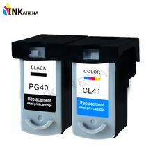 PG-40 CL-41 Ink Cartridge For Canon PG40 CL41 Pixma MP160 MP140 MP210 MP220 MX300 MX310 iP1800 iP2500 iP1600 iP1200 Printer Ink 1 set pg 40 cl 41 refillable ink cartridge for canon pixma mp140 mp150 mp160 mp180 mp190 mp210 mp220 mp450 mp470 printer