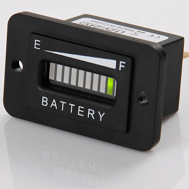 Lead acid storage battery Free Shipping!Battery Discharge Indicator Charge Indicator 12V 24V