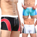 Outdoor Men Sexy Swim Wear Surf Beach Wear Swimming Trunks Shorts Boxer Brief 4 Size Underpants Men Swimwear Swimming Trunks