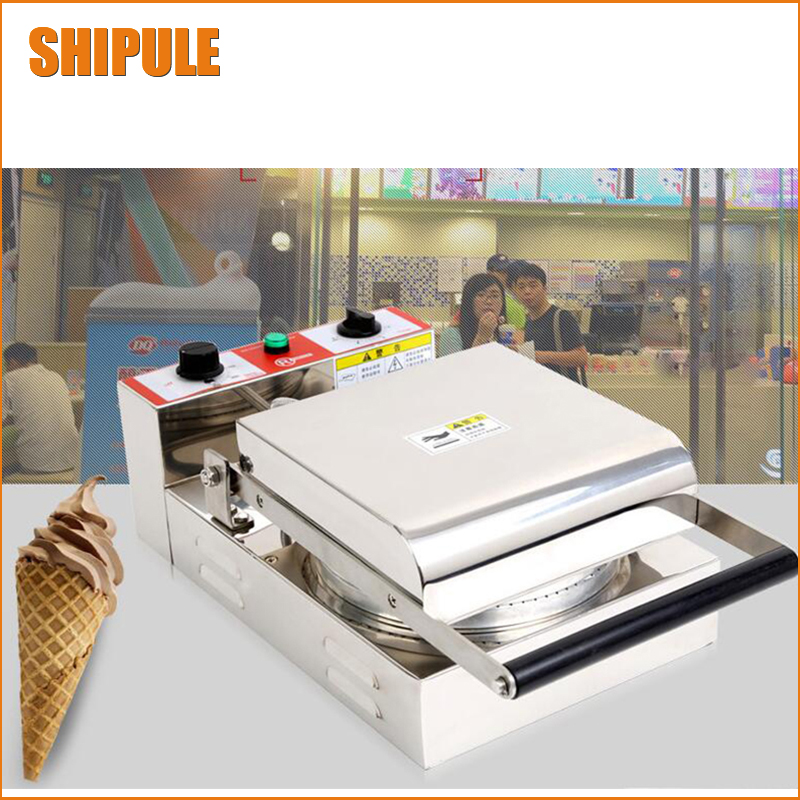 New Electric Waffle Maker Commercial Ice Cream Cone Machine Cone Egg Roll Maker