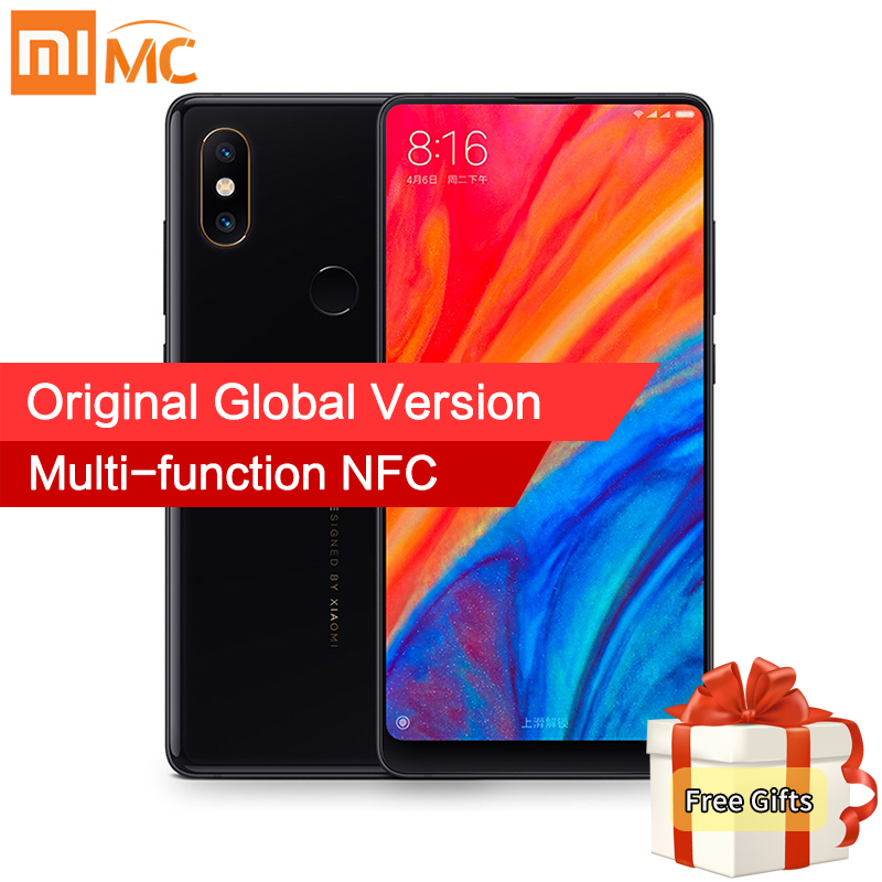 En Stock versión Global Xiao mi x 2 s 6 GB 64 GB Snapdragon 845 Face ID NFC 5,99