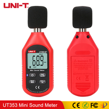 UNI-T UT353 Mini Sound Level Meter 30~130dB Noise Measuring Instrument db Digital Voice Decibel Monitor LCD Backlight