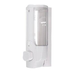 Image 3 - High Wall Mounted Shampoo Soap Dispenser Sanitizer Bathroom Shower Liquid Lotion Pump UEJ
