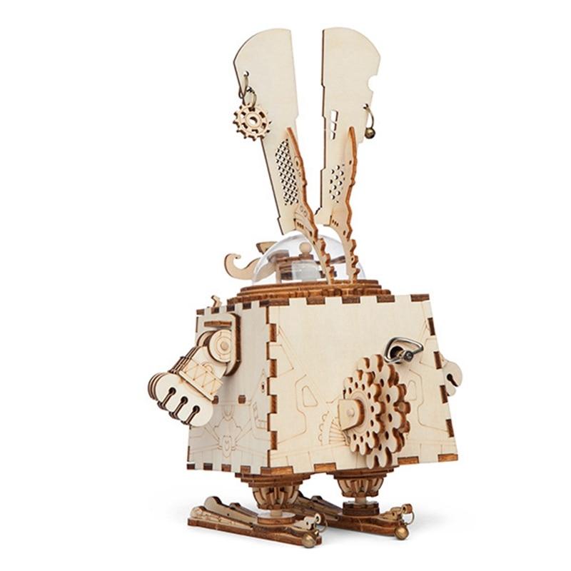 Robotime 3D Puzzle DIY Қозғалыс арқылы жиналған - Ойындар мен басқатырғыштар - фото 6