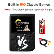 2019 New Retro Mini Handheld Game Console 8 Bit 3.0 Inch Portable Handeld Game Player Built-in 500 games Video Game Console