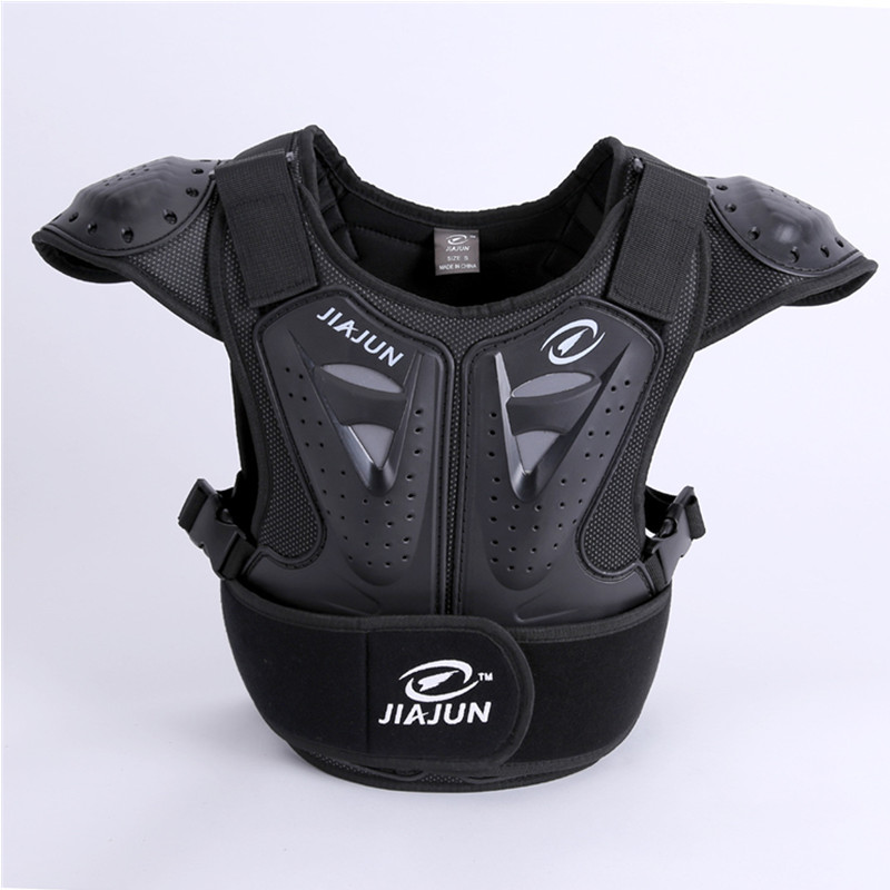 Child Body Protector armor Motorcycle jackets Motocross back shield sleeveless vest Spine Chest Protective gears Jacket недорго, оригинальная цена