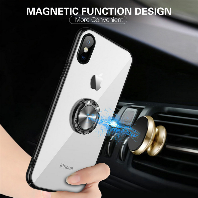 MXHYQ luxury Car magnetic anti-drop mobile cover case for SAMSUNG galaxy S6 edge