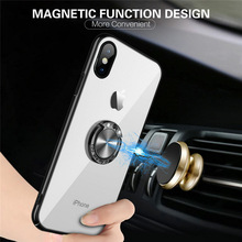 luxury Car magnetic anti-drop mobile cover case for SAMSUNG galaxy S6 edge plus
