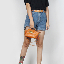 YIFANGZHE Woman Bag Genuine Leather, Ladies and Girls Messenger Crossbody Bags Retro Style Roomy Wallet /Phone