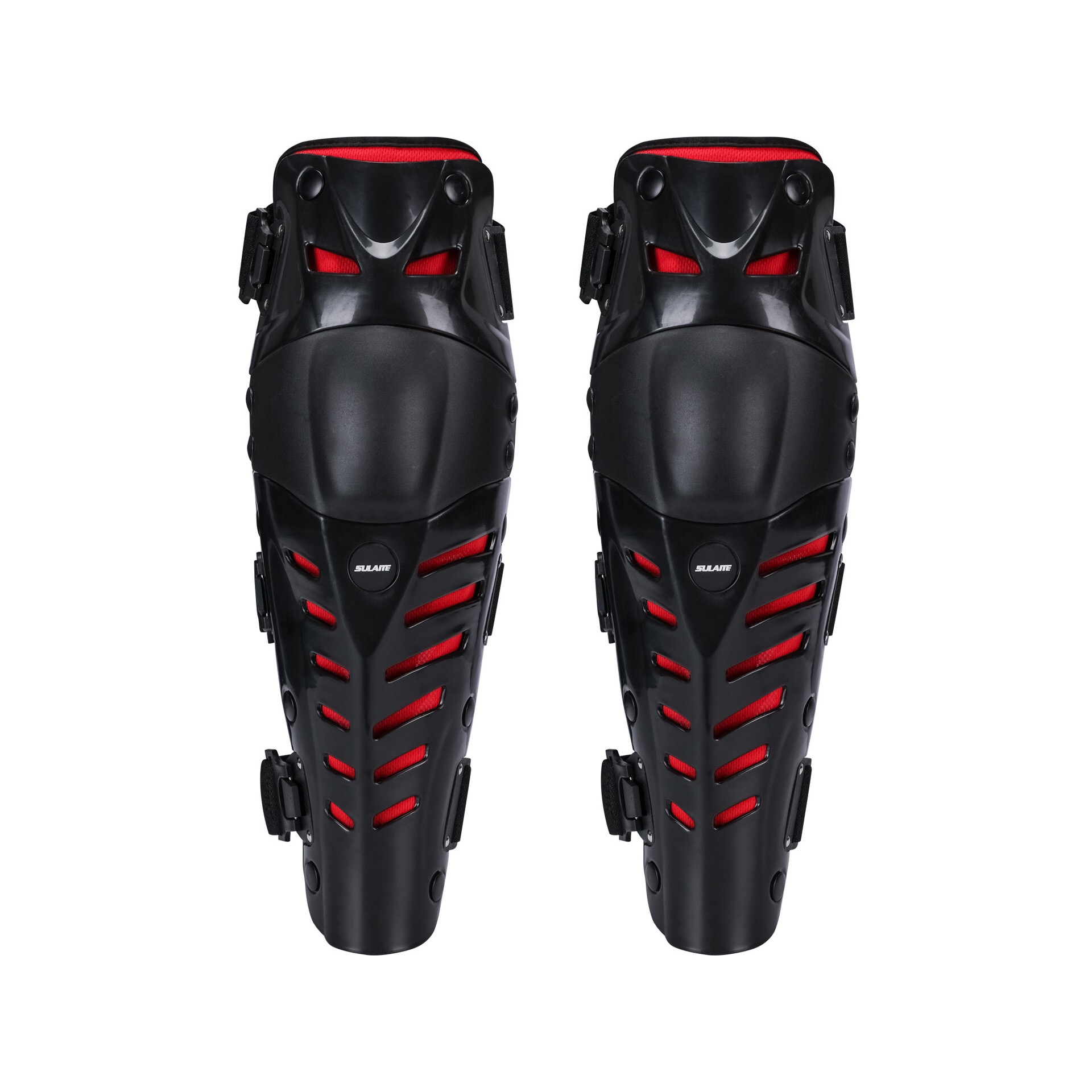 Black Red Motorcycle Knee pads Protection Drop Resistant Leg knee Protective Gear Adult Sport Moto Skate Skiing Knee Protector in Motorcycle Protective Kneepad from Automobiles Motorcycles