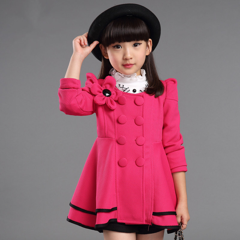 Aliexpress.com : Buy New style fashion kids baby trench coat for ...